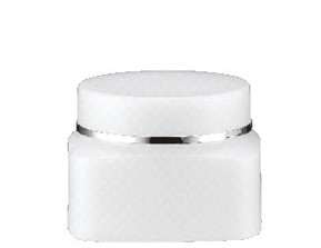 PP SQUARE CREAM JAR 15ML-50ML